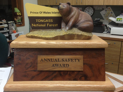 Safety trophy