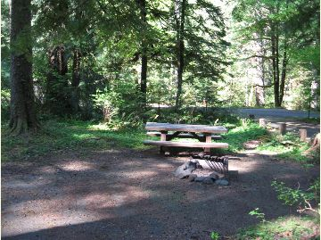 Pic of Green Canyon campsite