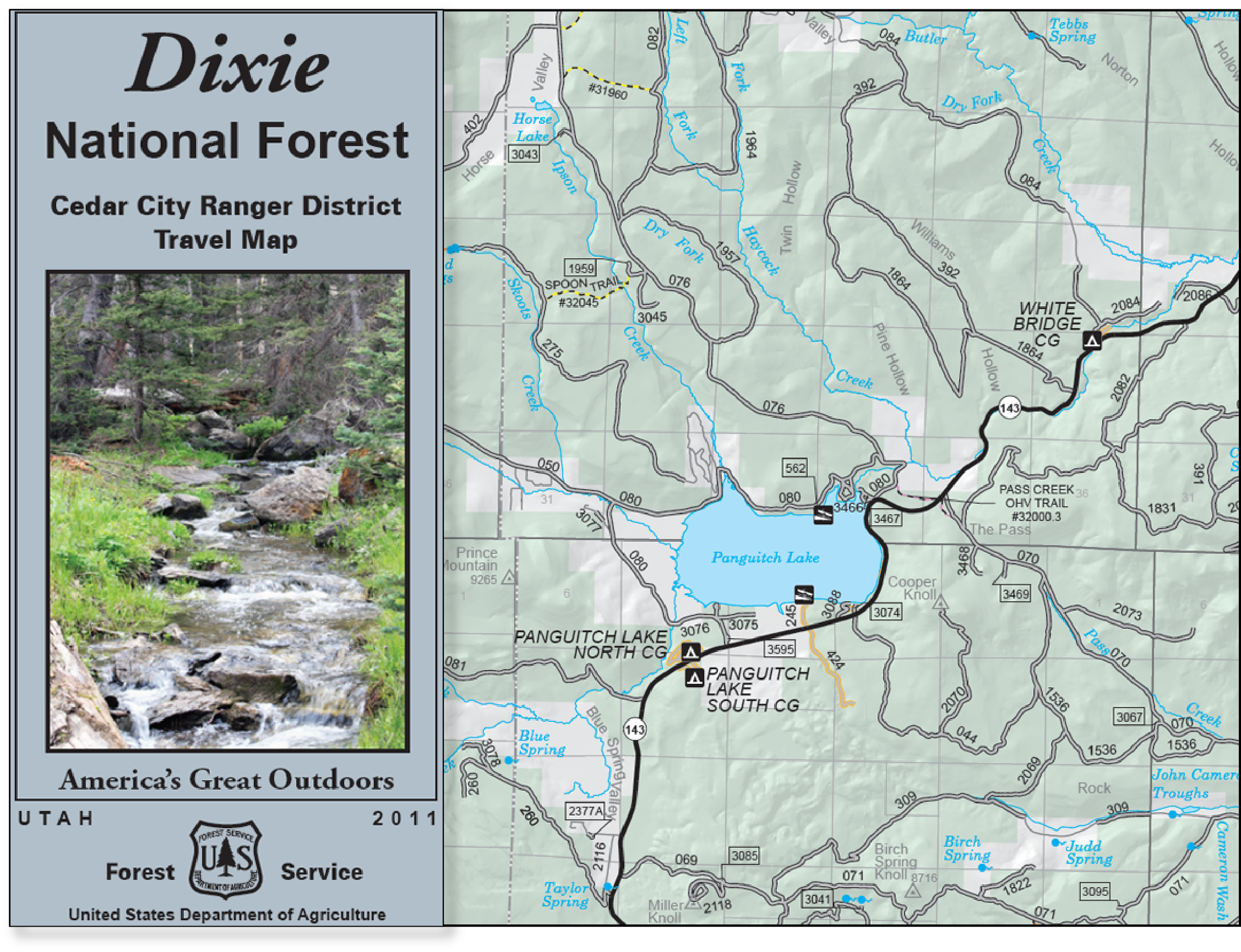 Dixie National Forest   Maps & Publications