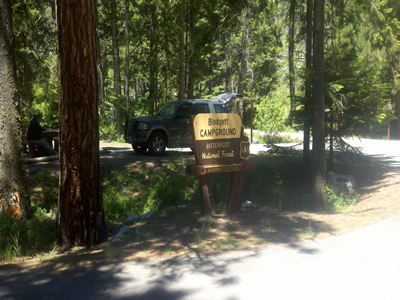 Blodgett Creek Campground.