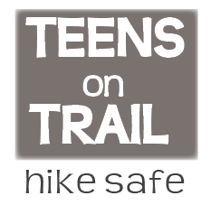 Teens on Trail hike safe