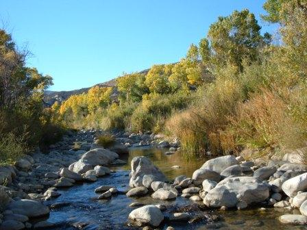 Sespe Wilderness - Fall Season