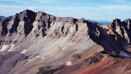 Sneffels Wilderness, Grand Mesa, Uncompahgre and Gunnison NF.