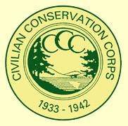 An image of the Civilian Conservation Corps logo