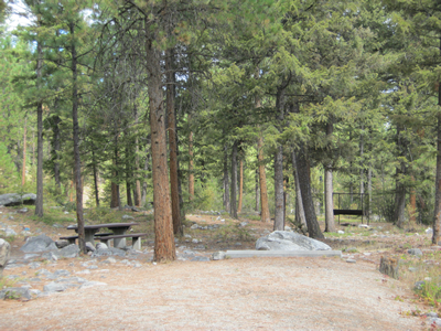 Image of Rock Creek Horse Camp.