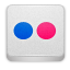 Logo image for Flickr photo sharing website.