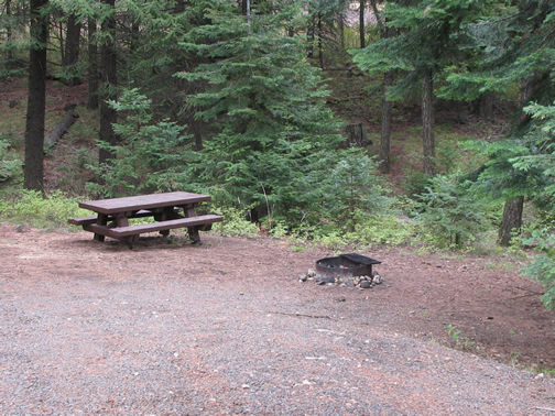 Fairview Campground campsite