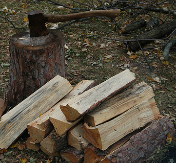 Cutting Firewood