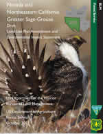 Cover page for the Draft Nevada and Southwestern Montana Greater Sage-Grouse Environment Impact Stat