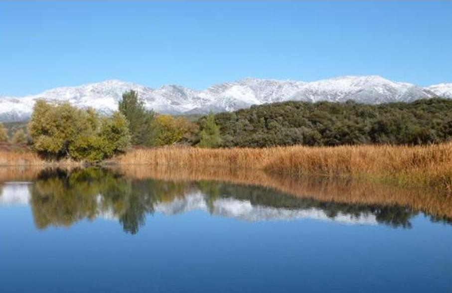 Rose Valley Lake - Ojai Ranger District -Winter Season