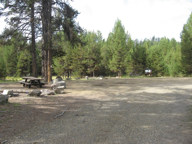 Big Creek Meadows Trailhead and Campsite #1