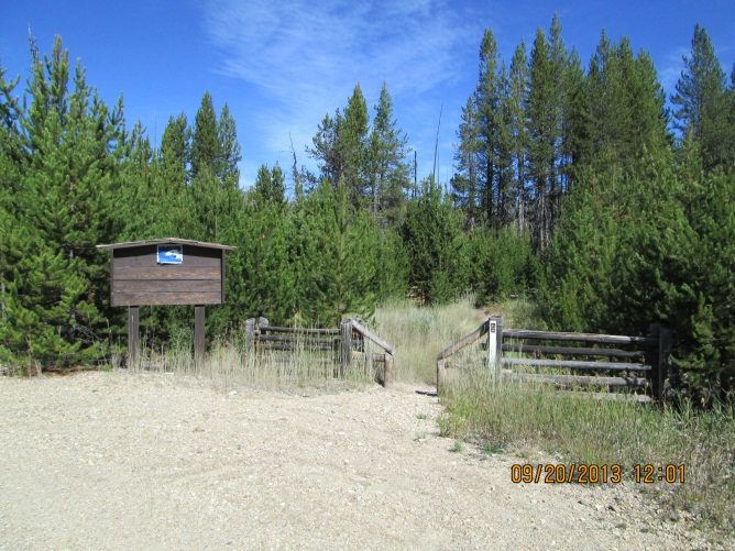 North Winom Trailhead