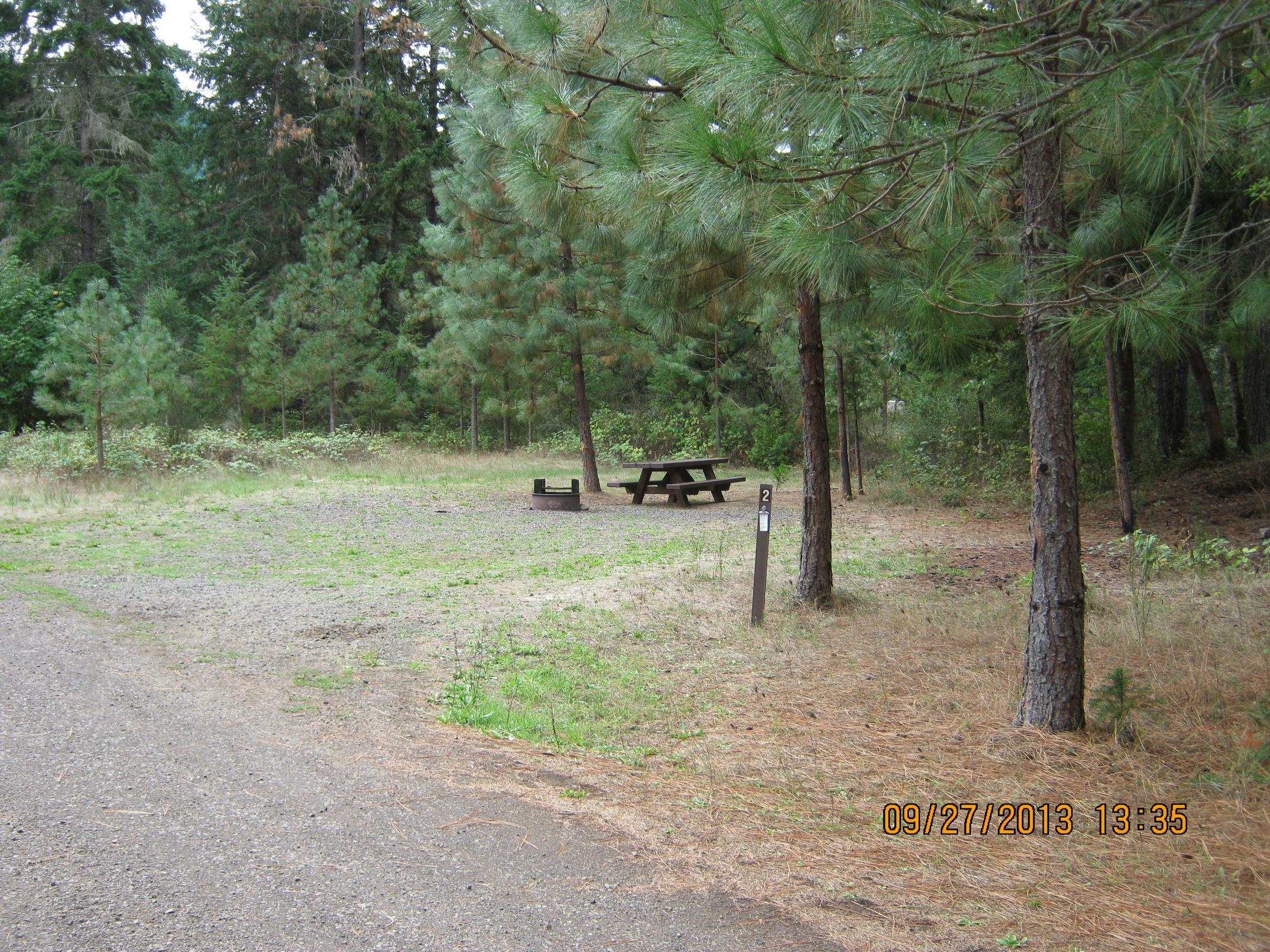 Three C Rock Campground Umpqua National Forest