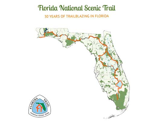 Florida Rails To Trails Map.Florida National Scenic Trail Home