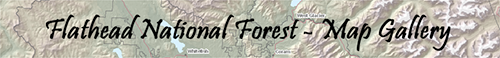 Refief Map Banner for the Map Gallery