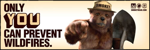 Smokey Bear logo