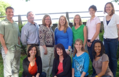 Photo of eleven members of the CCRC Team