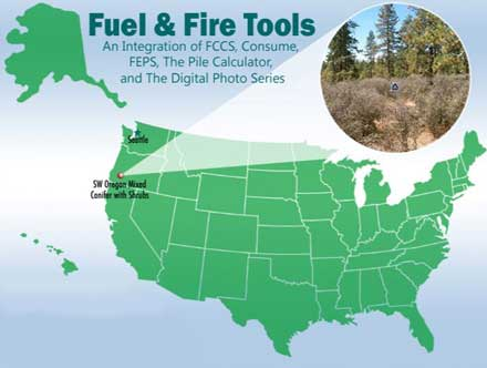 Fuel and Fire Tools (FFT) | Climate Change Resource Center