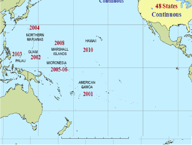 Pacific Islands Database, Forest Inventory and Analysis