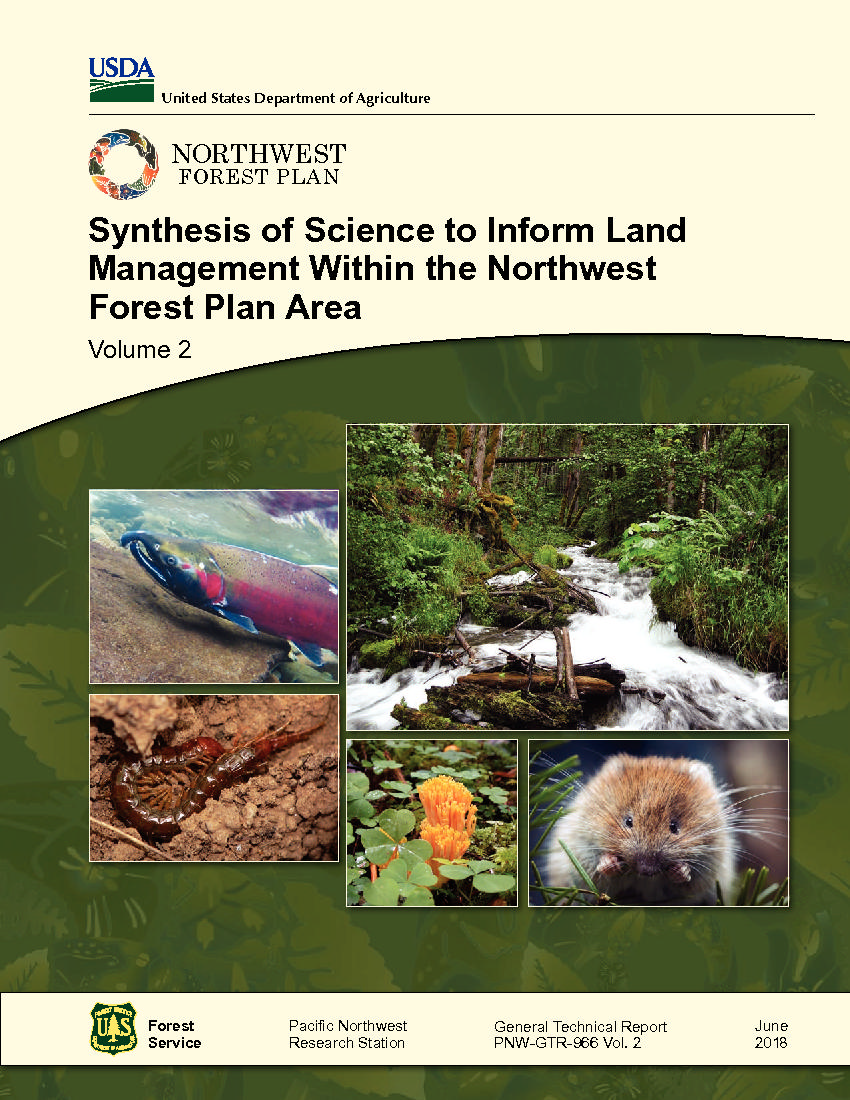 Volume 2—Synthesis of science to inform land management within the Northwest Forest Plan area