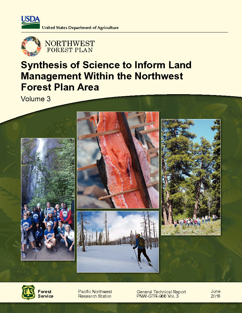 Volume 3—Synthesis of science to inform land management within the Northwest Forest Plan area