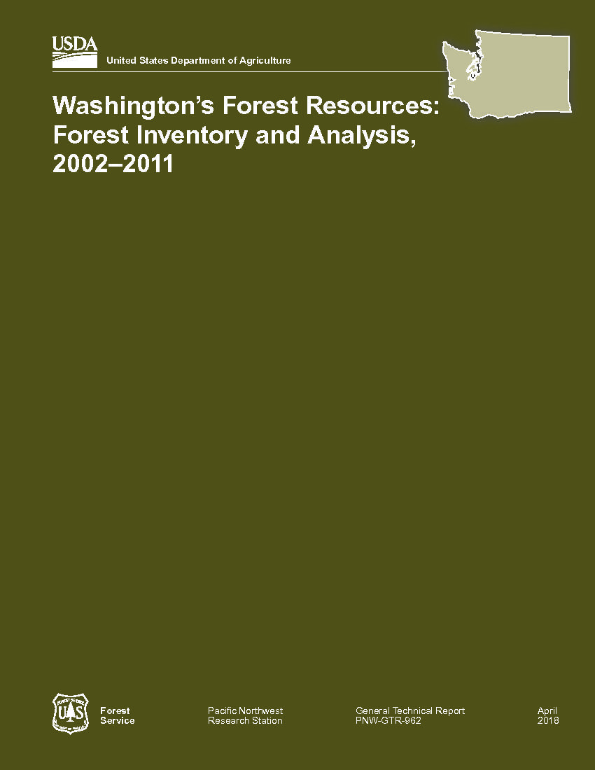 Washington's forest resources: Forest Inventory and Analysis, 2002–2011