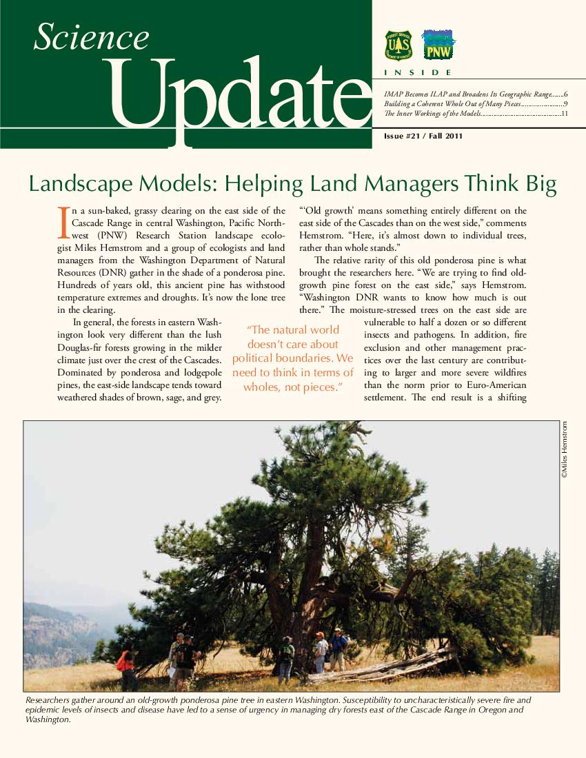 Landscape models: helping land managers think big