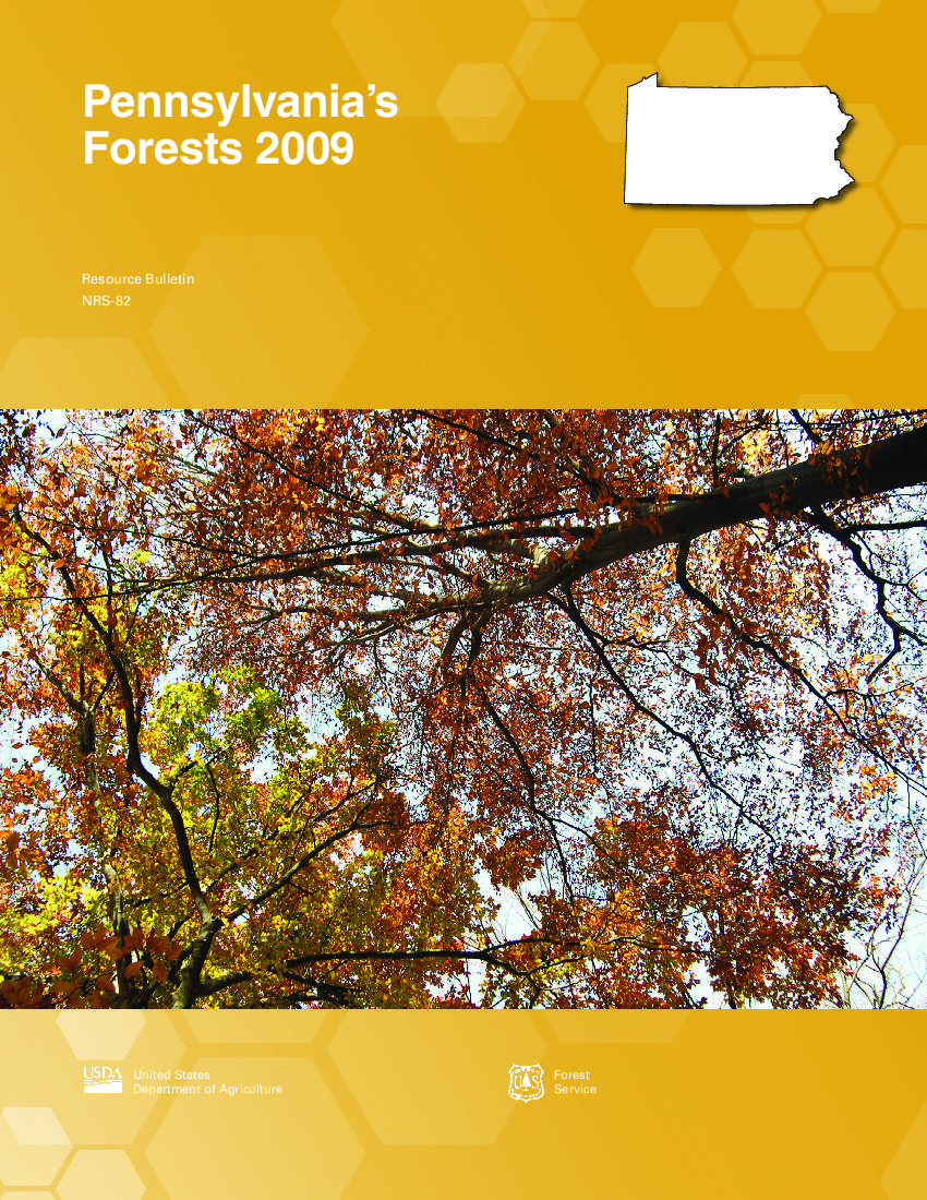 Pennsylvania's Forests, 2009