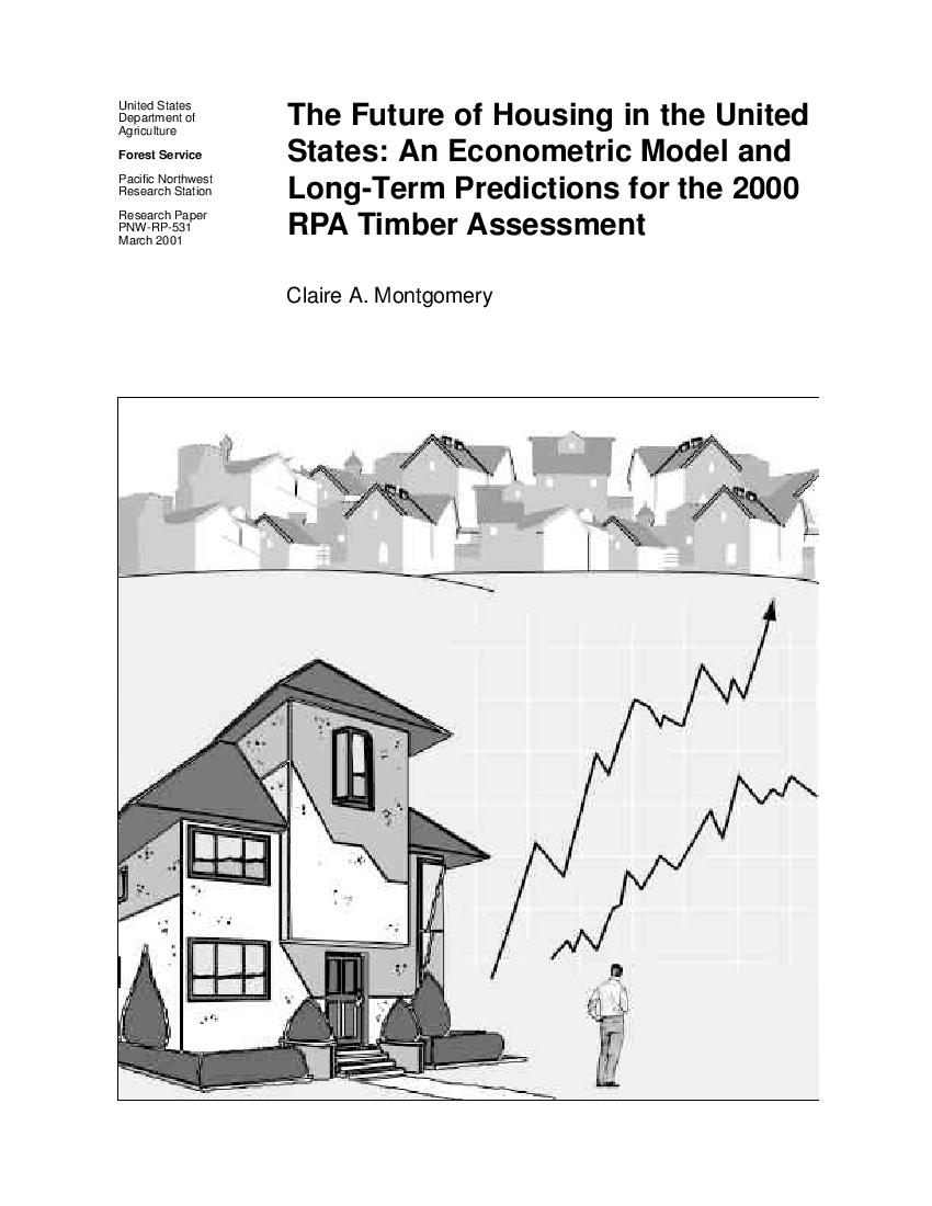The future of housing in the United States: an econometric model of