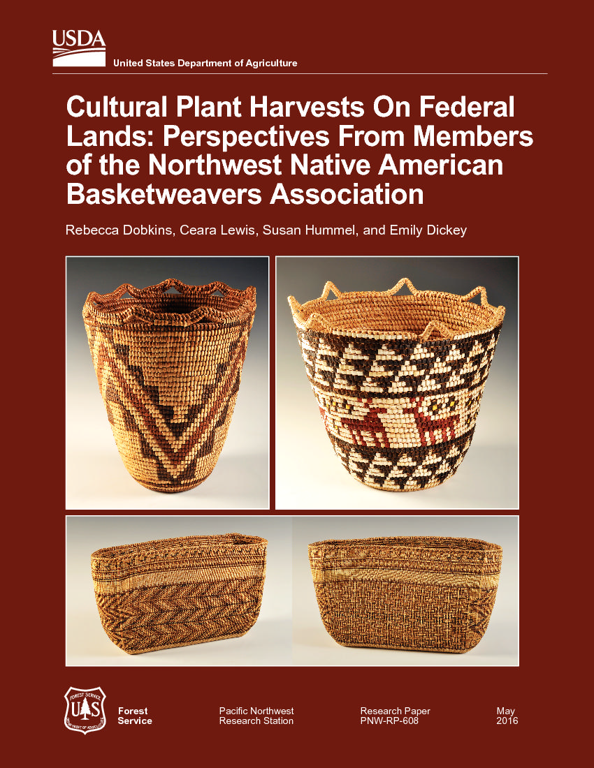 Cultural plant harvests on federal lands: perspectives from members of the Northwest Native American Basketweavers Association