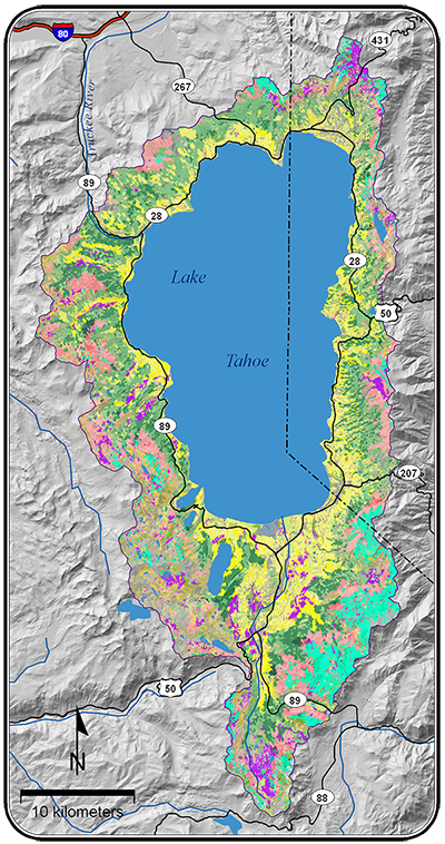 Developing FCCS Fuelbeds for the Lake Tahoe Basin