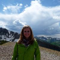 Katherine Oldberg at the Grand Tetons National Park