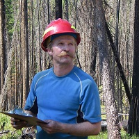 Collecting fire data in the Bob Marshall Wilderness