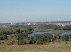 Photo of Restoration in urban areas can take several forms ' or ' View of Chicago skyline from Calumet restoration sites. Lynne Westphal, Forest Service