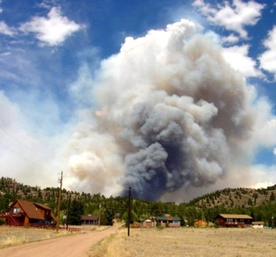 Photo of A new tool helps resource managers weigh investments and mitigation measures to reduce wildfire risk. Forest Service