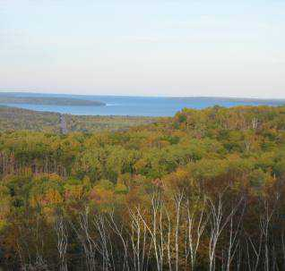 Photo of Assessing vulnerability of northern Wisconsin's Forests_Northern Wisconsin's ecosystems are vulnerable to climate change; the assessment provides important information to land managers. Tom Matthiae, Forest Service
