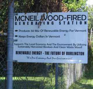 Photo of Biomass receiving gate for a Burlington Electric power station. Dennis Becker, University of Minnesota