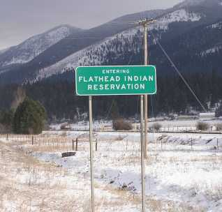 Photo of The Rocky Mountain Research Station is a partner in helping to protect or restore relationships between residents of the Flathead Indian Reservation and the Mission Mountain landscape. Forest Service