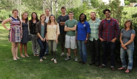 Photo of Members of the Wilderness Fellows program. Forest Service