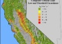 Photo of Composite critical load exceedance map for seven major vegetation types in California. The figure indicates areas where and by how much atmospheric nitrogen deposition is higher than the critical load (e.g., threshold) for risk of harmful ecological effects.  Forest Service