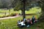 Photo of A Latino family enjoys a day at the park. Forest Service