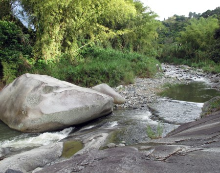 Photo of Río Saliente river in Jayuya, Puerto Rico.  Kasey R. Jacobs, USDA Forest Service