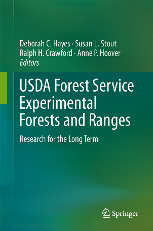 Photo of Book cover. USDA Forest Service