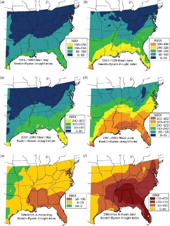 Climate Change And Associated Fire Potential For The Southeastern - Us wildland fire potential map