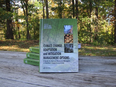 Photo of A new book provides land managers and policy makers with key information about the potential impacts of climate change on southern forest ecosystems. Sarah Farmer, USDA Forest Service