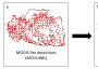 Picture of New Use of Remotely Sensed Data Help Map Daily Progression of Wildfires