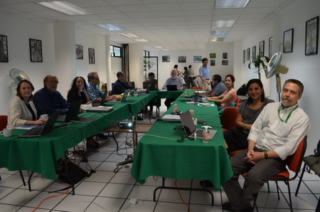 Photo of International working group meeting in Coyoacan, Mexico. NOTE: I have several other nice group photos. They all highlight our diversity. Vanessa Silva Mascorro, University of British Columbia