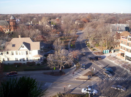 Photo of Village Of Riverside, one of 10 communities participating in the pilot effort in the Chicago Wilderness region. Michael Collins, Village of Riverside