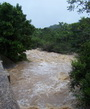 Photo of Mameyes river flood event. USDA Forest Service