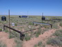 Photo of Nighttime warming experiment at the Sevilleta National Wildlife Refuge, New Mexico. This long-term experiment is designed to determine the effects of warmer nighttime temperatures on carbon fluxes in native desert grassland. Scott Collins, University of New Mexico